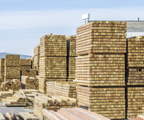 Houten planken opslag Houthandel Katasman