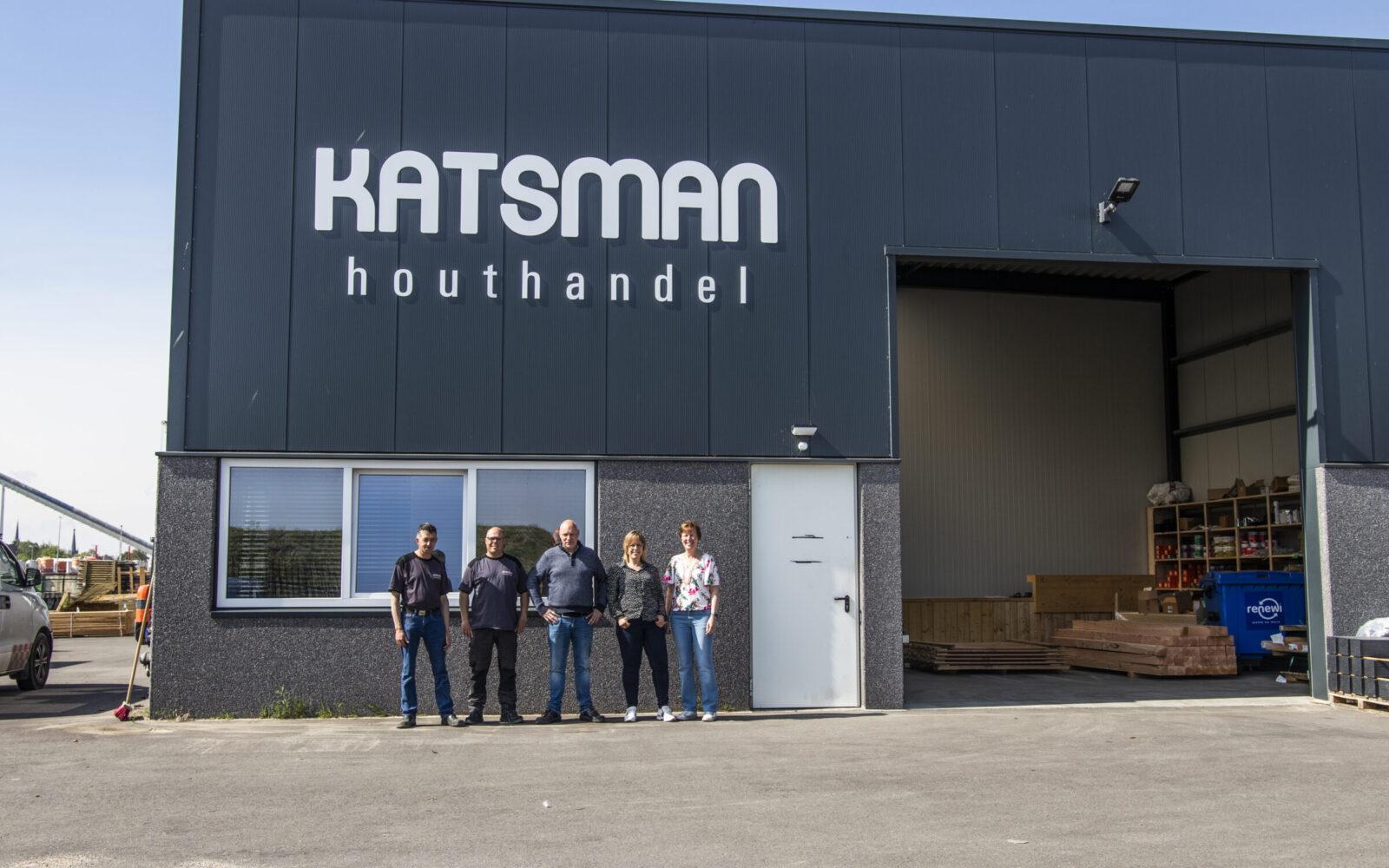 Houthandel Katsman met alle werknemers